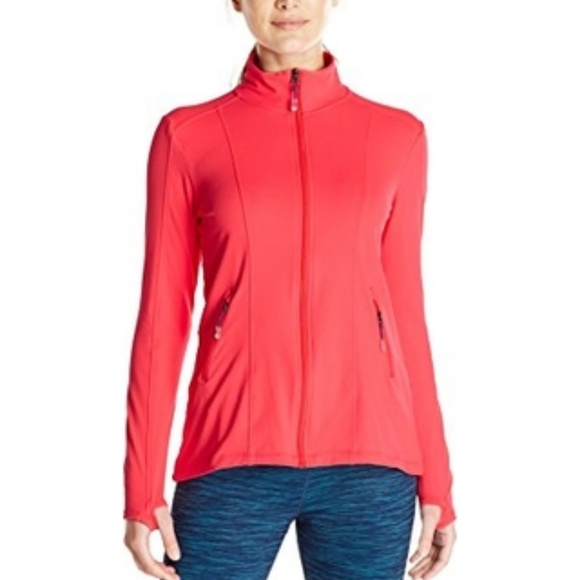 MSP by Miraclesuit Jackets & Blazers - MSP By Miraclesuit Coral Front Zip Shaping Jacket
